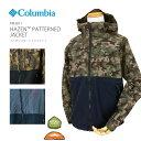 [2020秋冬新作] コロンビア ジャケット マウンテンパーカー COLUMBIA PM3811 Hazen Patterned Jacket ヘイゼン パターンド ジャケット レインウェア 防汚 撥