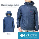 719213f7d4 Columbian jacket mountain parka COLUMBIA PM3379 HAZEN INDIGO JACKET  ヘイゼンインディゴジャケット