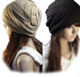 編織物便帽值班編織物帽子男女兼用編織物蓋子女士人小臉效果M-xiewen