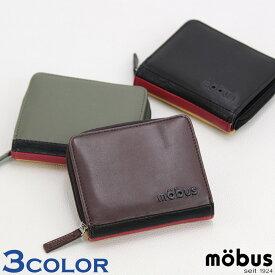 0c7f851191fe 財布 mobus モーブス メンズ 財布 MOS-302 合皮2つ折り財布 ウォレット レディース ロゴ