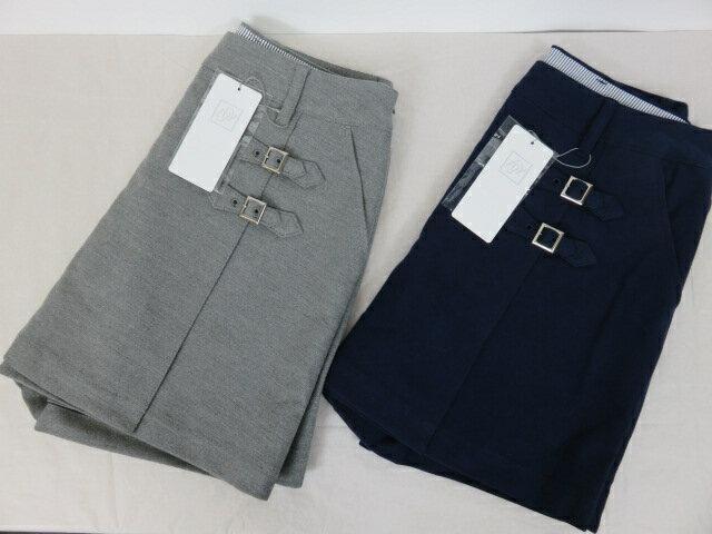 【ゾーイ】【ZOY】レデース キュロットスカート 38303 04:グレー 85:ネイビー 36/38サイズ