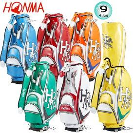 本間ゴルフ(ホンマ) 9型(4.5kg) ダンシング ホンマ エナメル モデル キャディバッグ CB-1908 [HONMA Dancing HONMA ENAMEL MODEL CADDIE BAG]
