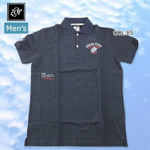 【ゾーイ】【ZOY】 12005 メンズ 半袖ポロシャツ