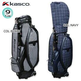 キャスコ KASCO キャディバッグ KS-088 9型(4.4kg) キャスター付き ボトムハンドル付き [CADDIE BAG]
