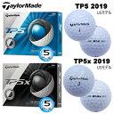 テーラーメイド 2019年 TP5 シリーズ 5ピース ゴルフボール 1ダース(12個入) [TaylorMade 2019 TP5 SERIES 5-PIEC...