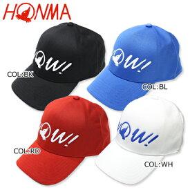 本間ゴルフ ホンマHMGQ018R001キャップ ゴルフキャップ 帽子