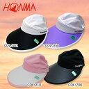 【HONMA】【本間ゴルフ】336-312651 レディース  バイザー