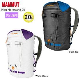 マムート (MAMMUT) トリオン ノードワンド 20 (20L) バックパック 2520-00770 (男女兼用) マウンテニアリング バックパック [MAMMUT Trion Nordwand 20 UNISEX BACKPACK Mountaineering Backpack USモデル