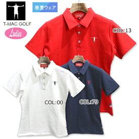 2020年春夏モデルティーマック T-MAC NP70W レディース ゴルフウェア 半袖 ポロシャツ