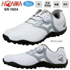 本間ゴルフ(ホンマ) メンズ ダイヤル式 防水 スパイクレス ゴルフシューズ SR-1604 [HONMA GOLF SPIKELESS GOLF SHOES SR-1604]