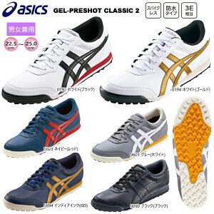 アシックス(asics) 男女兼用ゲルプレショット クラシック 2 (GEL-PRESHOT CLASSIC 2) スパイクレス ゴルフシューズ TGN915 (22.5〜25.0cm) インポートモデル