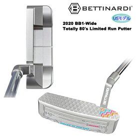 ベティナルディ 2020年 世界限定300本 BB1-Wide Totally 80's Limited Run パター RJB024903 [BETTINARDI 2020 BB1-Wide Totally 80's Limited Run Putter RJB024903] USモデル