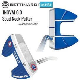 ベティナルディ(BETTINARDI) '20 イノベイ6.0(INOVAI 6.0) スパッド パター (Spud Neck) スタンダード グリップ USモデル