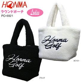 本間ゴルフ(ホンマ) '19 レディース ラウンドポーチ PO-6921 [HONMA LADIES ROUND BAG]