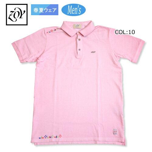 【ゾーイ】【ZOY】071482040 メンズ 半袖シャツ BOBコラボ