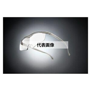 HAZUKI COMPANY Hazuki メガネ型拡大鏡 ハズキルーペ ラージ クリアレンズ 1.85倍 チタンカラー