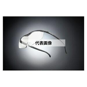 HAZUKI COMPANY Hazuki メガネ型拡大鏡 ハズキルーペ ラージ クリアレンズ 1.32倍 ブラックグレー