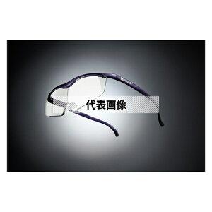 HAZUKI COMPANY Hazuki メガネ型拡大鏡 ハズキルーペ ラージ クリアレンズ 1.85倍 紫
