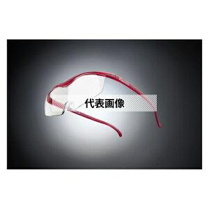 HAZUKI COMPANY Hazuki メガネ型拡大鏡 ハズキルーペ ラージ クリアレンズ 1.32倍 ルビー