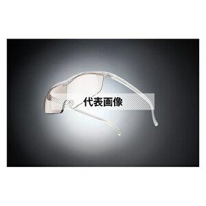 HAZUKI COMPANY Hazuki メガネ型拡大鏡 ハズキルーペ ラージ カラーレンズ 1.85倍 パール