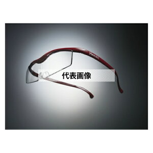 HAZUKI COMPANY Hazuki メガネ型拡大鏡 ハズキルーペ コンパクト クリアレンズ 1.6倍 赤