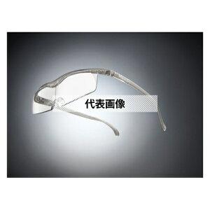 HAZUKI COMPANY Hazuki メガネ型拡大鏡 ハズキルーペ コンパクト クリアレンズ 1.85倍 チタンカラー