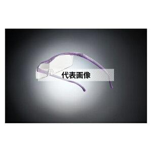 HAZUKI COMPANY Hazuki メガネ型拡大鏡 ハズキルーペ コンパクト クリアレンズ 1.6倍 ニューパープル