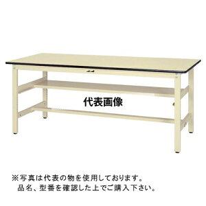 山金工業 ワークテーブル300シリーズ 固定式H740 中間棚付 SWP-S1 SWP-1575S1-II [個人宅配送不可]