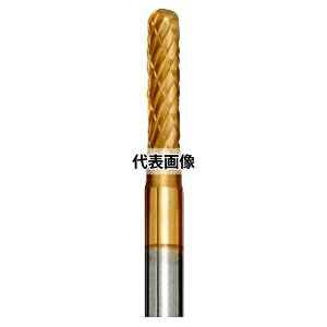 東洋アソシエイツ Mr.Meister 小型電動工具用超硬ロータリーバー (21225) 超硬ロータリーバー(C)