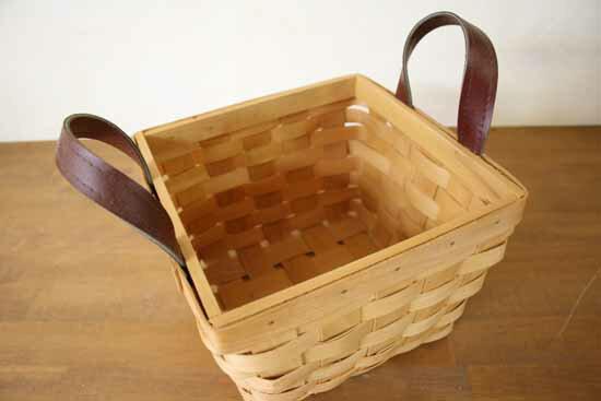 Metasequoia / Wood / Wood / Basket / Cart / Basket / Baskets / Scandinavian  / Nordic / Storage / Homewares / Display / Natural / New Life