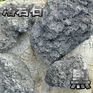 溶岩石 黒 サイズミックス 5kg