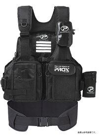 プロックス(PROX) フローティングゲームベスト(サポーター付き) 大人用(ブラック/ブラック) ライフジャケット