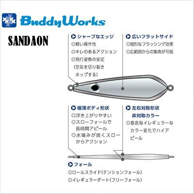 バディーワークス(BUDDYWORKS)SANDALON40gBPI【メール便配送可】