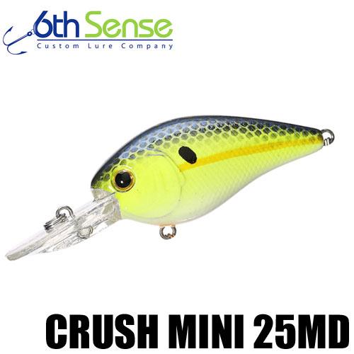 【シックス センス】 クラッシュ ミニ 25MD / Crush Mini 25MD