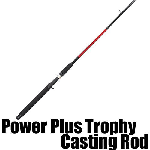 【バス プロ ショップス】 New パワー プラス トロフィー クラス / Power Plus Trophy Casting Rod