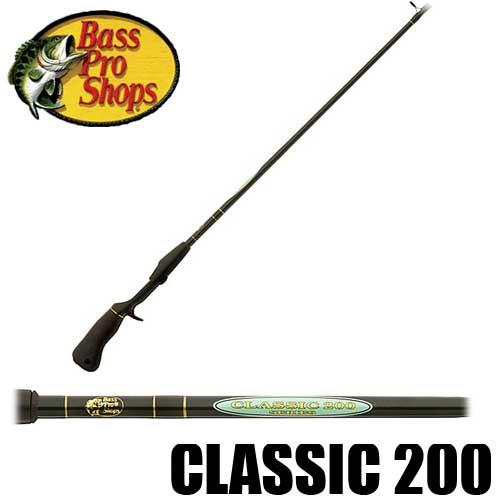 【バス プロ ショップス】 クラシック 200 ベイトロッド / Classic 200 Casting Rod