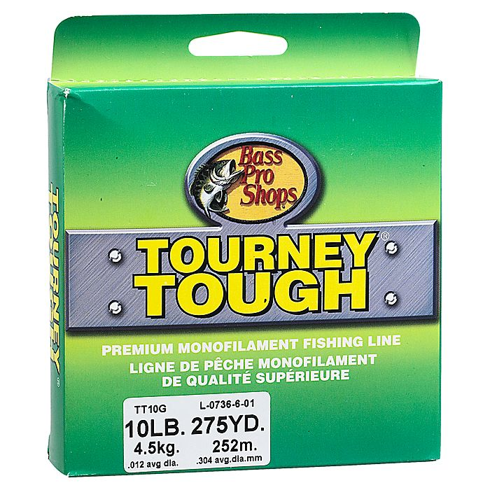 【バス プロ ショップス】 ツアニー タフ ナイロン ライン / Tourney Tough Monofilament Fishing Line