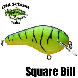 【オールド スクール ベイツ】 スクエア ビル / Square Bill