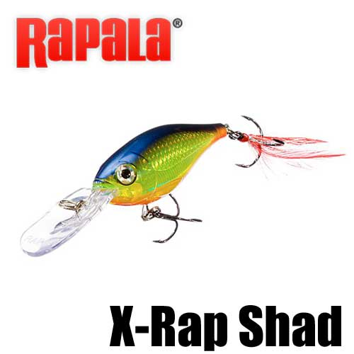 【ラパラ】 X-ラップ シャッド / X-Rap Shad