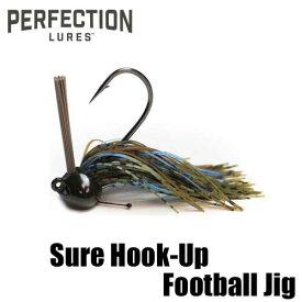 【パーフェクション ルアーズ】 シュア フックアップ フットボール ジグ / Sure Hook-Up Football Jig