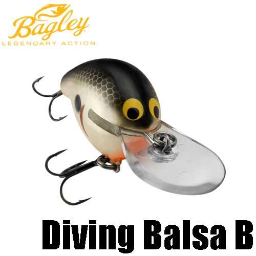 【バグリー】 ダイビング バルサ B / Diving Balsa B