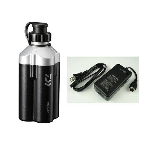 【最大1500円OFFクーポン!】 ダイワ スーパーリチウム BM2600C (充電器付き)(電動リールバッテリー)ブラック