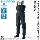 シマノ XEFO ドライシールド ストッキングウェーダー WA-224J ブラック