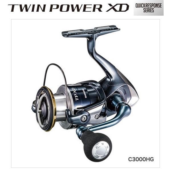 シマノ 17 ツインパワーXD C3000HG (スピニングリール)