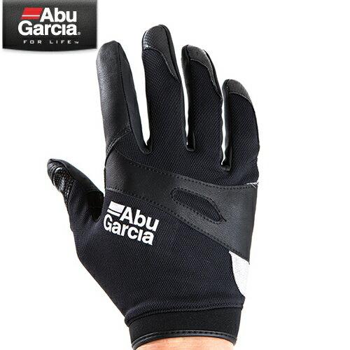 アブガルシア ジギング グローブ ブラック (手袋 グローブ)