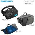 シマノヒップバッグMWB-021Q(フィッシングバッグ)