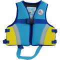 お買得品ネオプレーンジュニアスノーケリングベストFV-6023ブルー(子供ライフジャケット)【当店在庫限り】【釣り具】