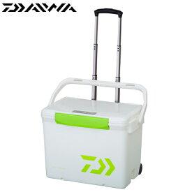 ダイワ シークールキャリー2 S2500 ホワイト/ライムグリーン (クーラーボックス)