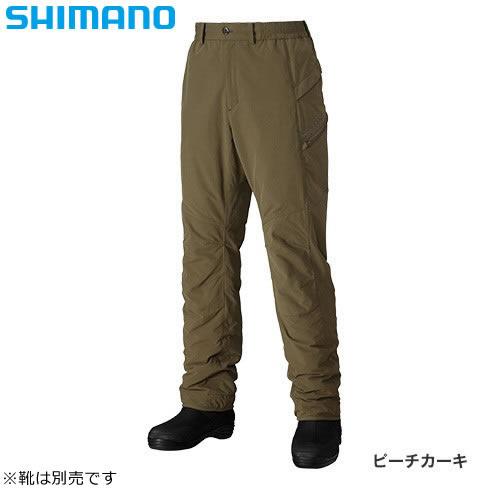 シマノ ホットボトムス PA-046N ピーチカーキ (防寒パンツ) ≪メーカー希望小売価格の57%off≫