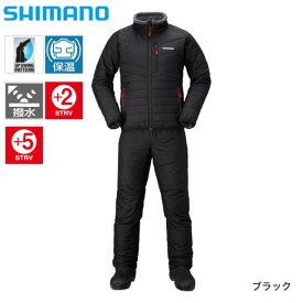 シマノ ベーシック インシュレーション スーツ MD-055Q ブラック S〜XL (防寒着 防寒ウエア)